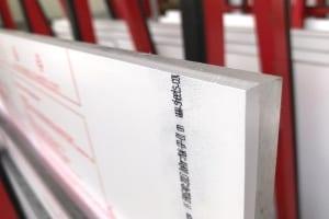 Fasen von Kunststoffplatten SK Scheidel Kunststoffe