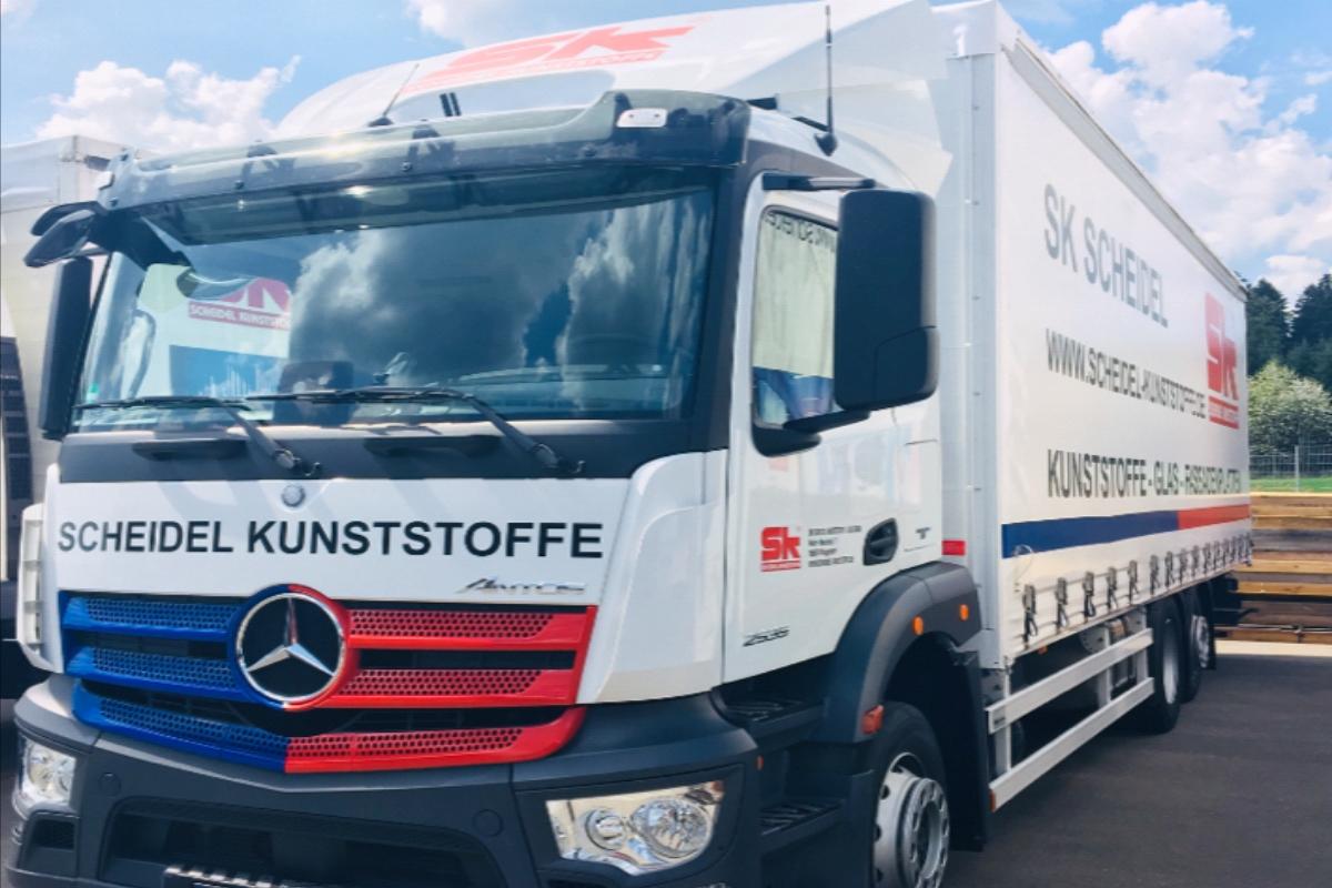 Kunststoff Expresslieferservice SK Scheidel Leistungen