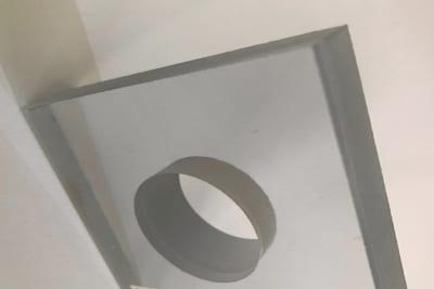 Kunststoff Wasserstrahlschneiden SK Scheidel Kunststoffe