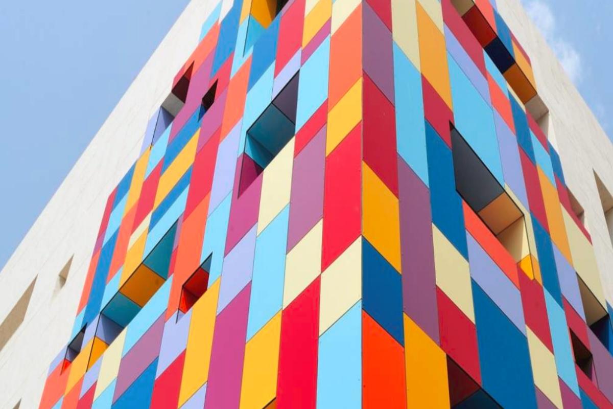 Trespa® Meteon HPL-Platten Fassadenplattenzuschnitt