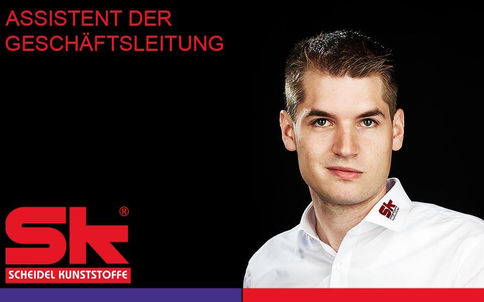 SK Scheidel Assistenz Geschäftsleitung Moritz Scheidel