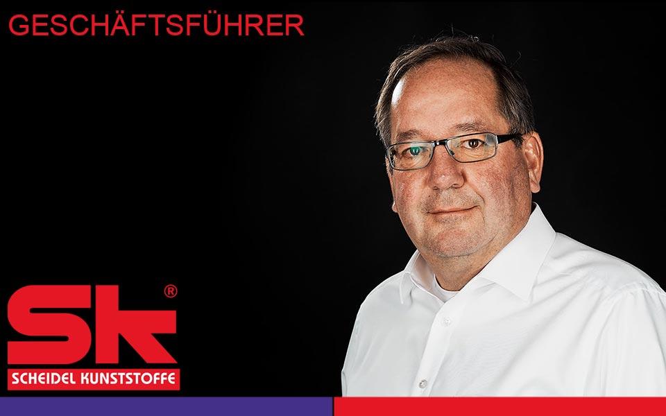 Geschäftsführer Eberhardt Scheidel