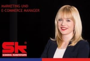 SK Scheidel Kunststoffe Ansprechpartner Marketing Maximiliane Scheidel